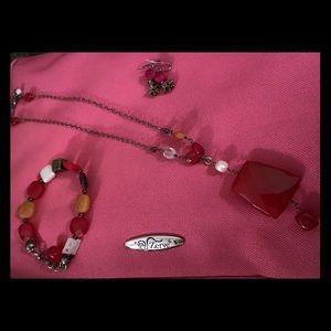 Silpada Necklace, Bracelet and Earrings